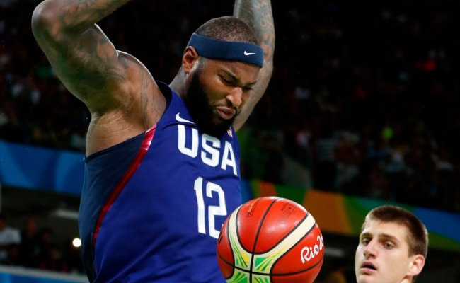 U S Dominates Serbia In Gold Medal Basketball Game The
