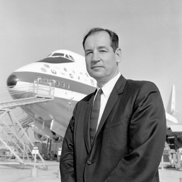 Joe Sutter Who Led an Army in Building Boeings Jumbo 747 Dies at 95  The New York Times