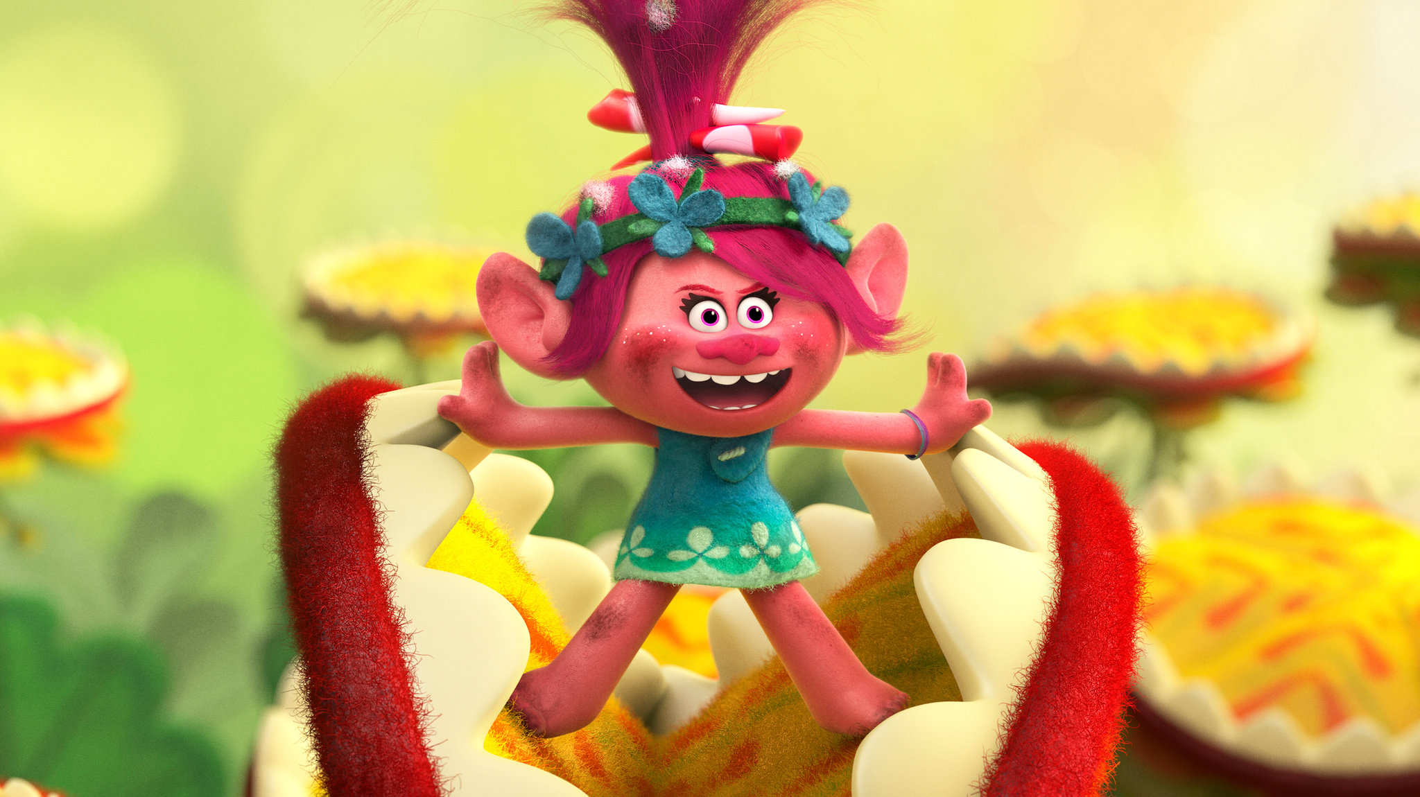 Review The Trolls Embark On A High Haired Rescue Mission The New York Times