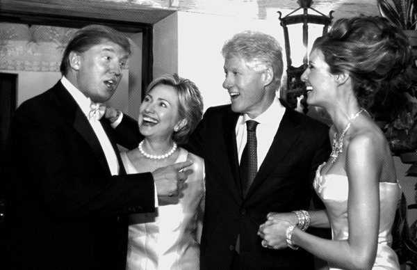 when hillary and donald