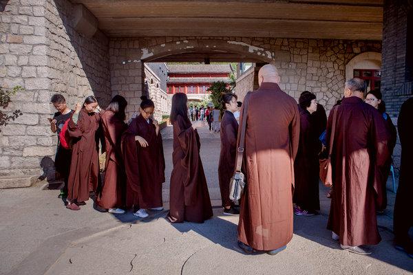 China's Tech-Savvy, Burned-Out and Spiritually Adrift, Turn to Buddhism