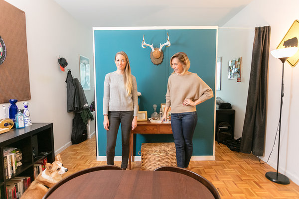 Roommates Divide and Conquer With Temporary Walls  The