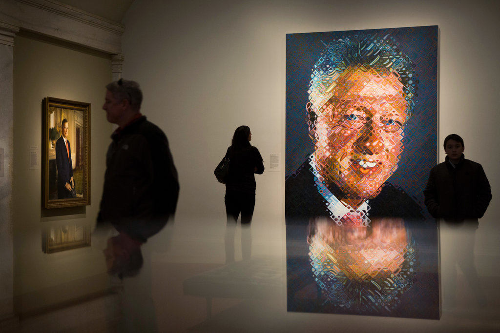 presidential portraits staring history