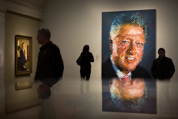 Bill Clinton Presidential Portrait Gallery National