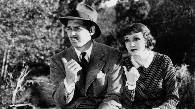 Image result for gable and colbert in it happened one night