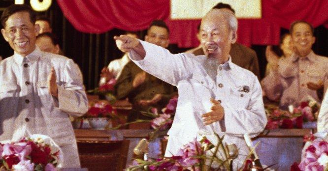 Image result for HC Minh và Lê Duẩn