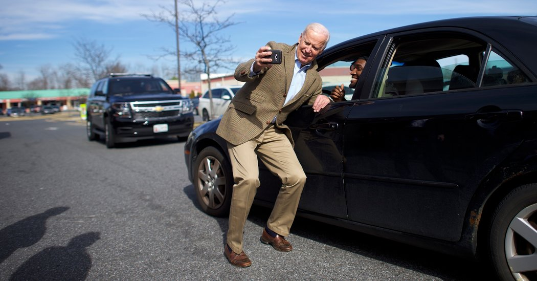 Joe Biden Campaigns for Delaware Candidate in Crucial