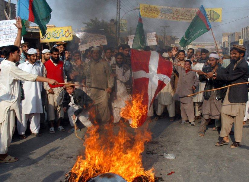 Image result for religious violence in denmark