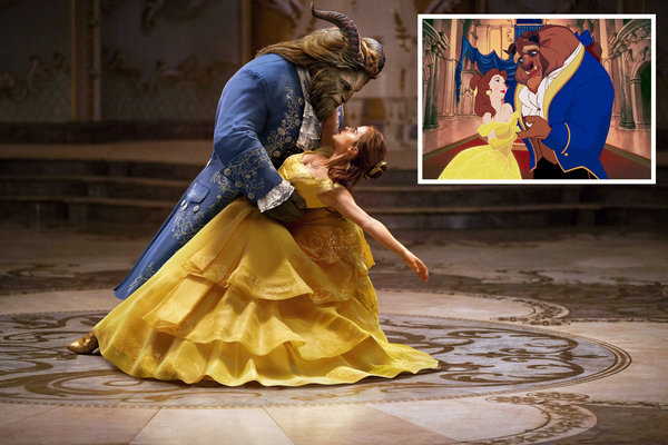 Beauty and the Beast Disneys 300 Million Gamble  The