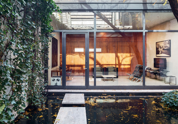 A Secret Little Glass Home in the Heart of New York  The