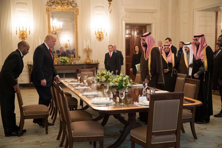 Trump Meets Saudi Prince as US and Kingdom Seek Warmer