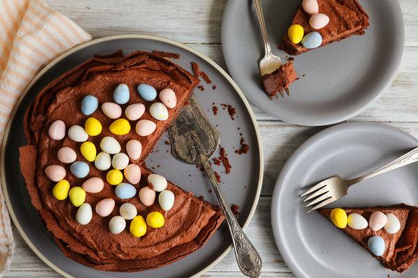 Cute Dessert Wallpaper Easter Egg Nest Cake Recipe Nyt Cooking