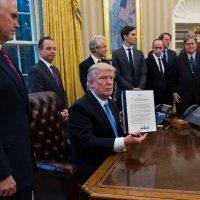 The All-Male Photo Op Isn't a Gaffe. It's a Strategy. by JILL FILIPOVIC
