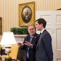 In Battle for Trump's Heart and Mind, It's Bannon vs. Kushner by MAGGIE HABERMAN, JEREMY W. PETERS and PETER BAKER