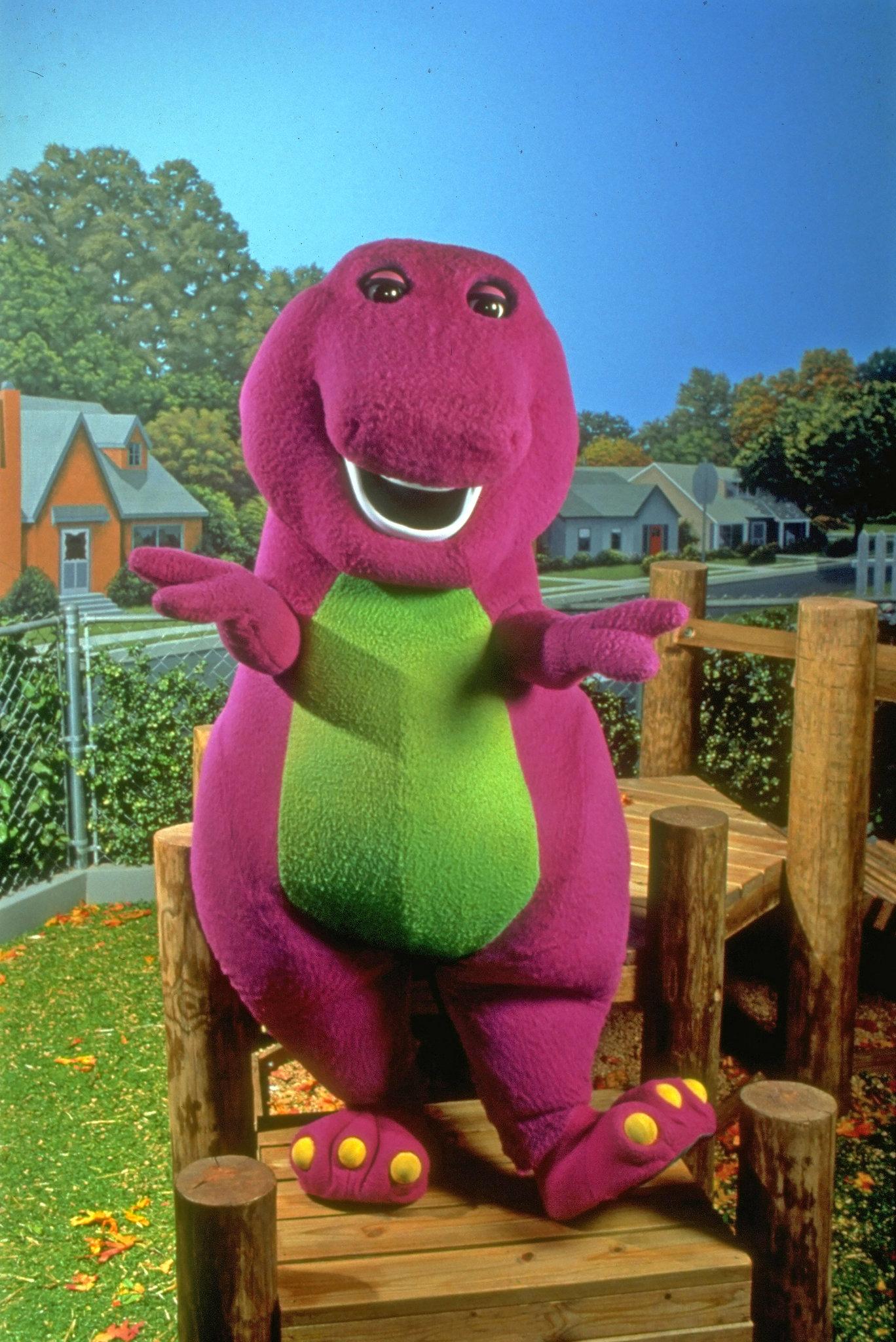 Barney & Friends If The Shoe Fits : barney, friends, Blame, 'Barney'?, Little, Guilty, Times