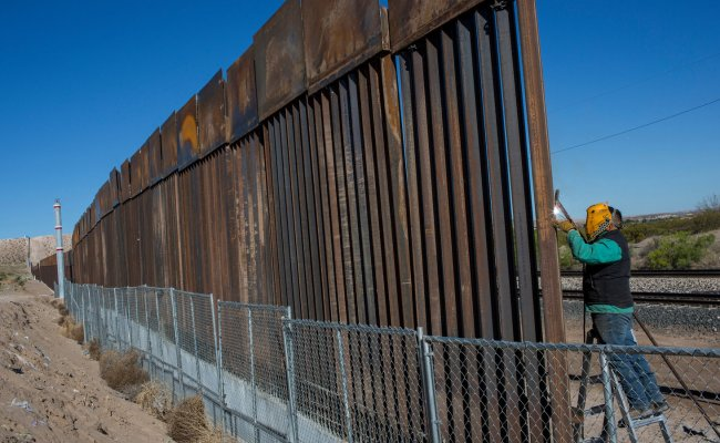 Wall Will Get Built Trump Insists As He Drops Funding