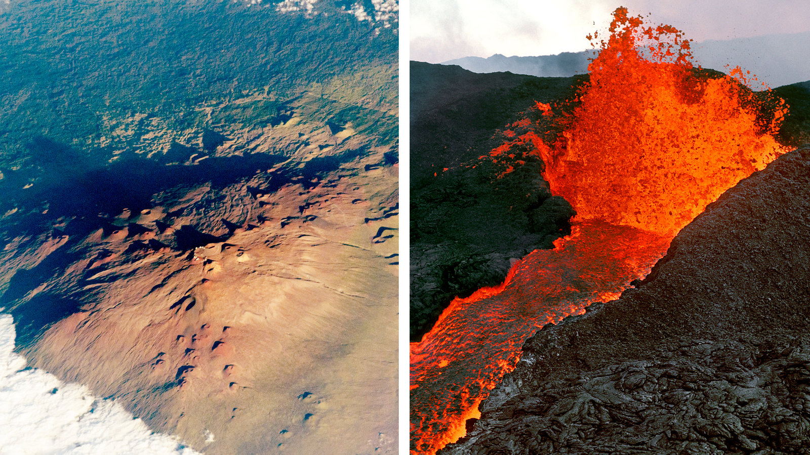 Why Two Volcanoes In Hawaii Are So Close But So Different