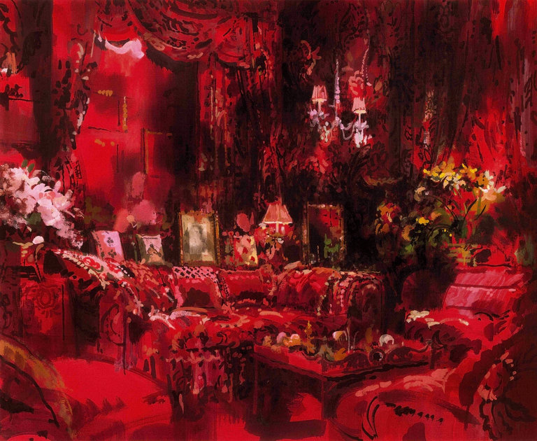 Jeremiah Goodman The Rembrandt Of 20th Century Rooms