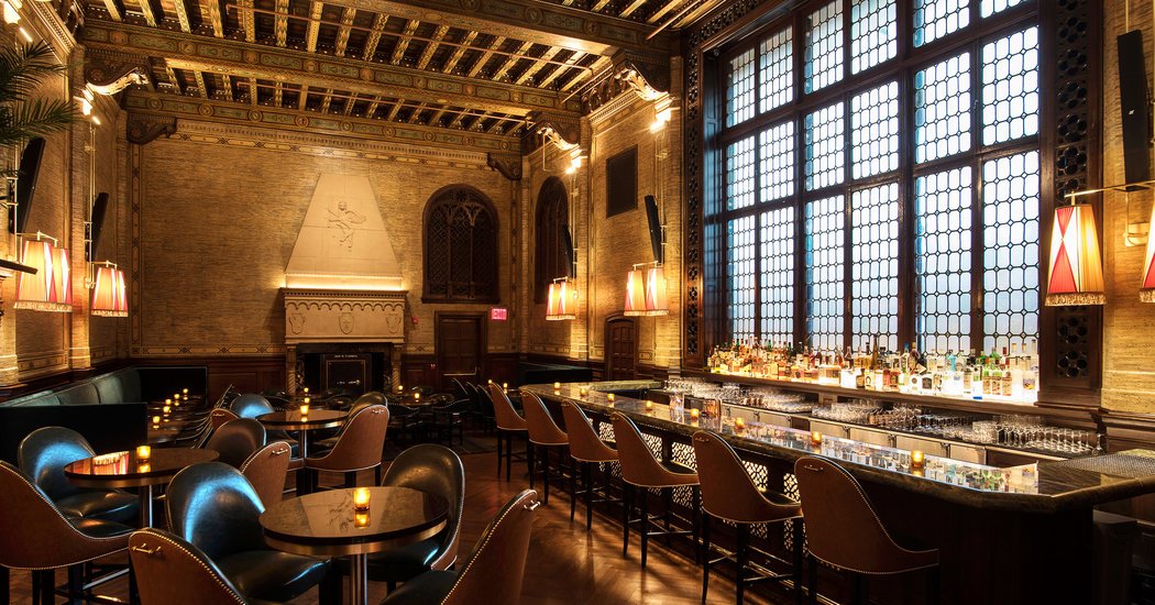 Return Of The Campbell An Ornate Grand Central Bar The