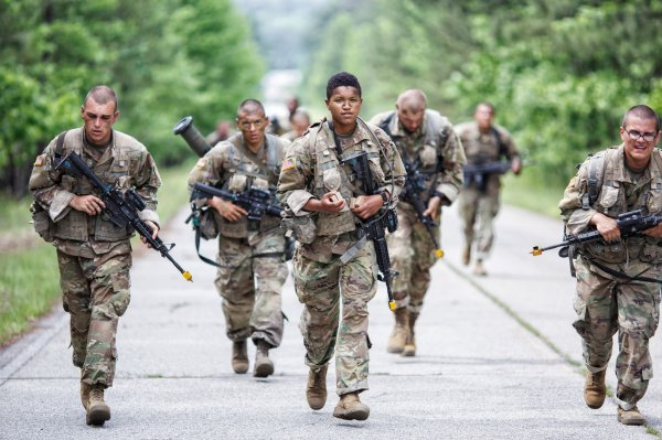 Army Infantry 1st Women Heavy Packs And Weight