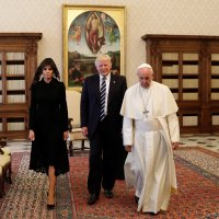 The Latest: Trump's Meeting With the Pope at the Vatican by THE NEW YORK TIMES