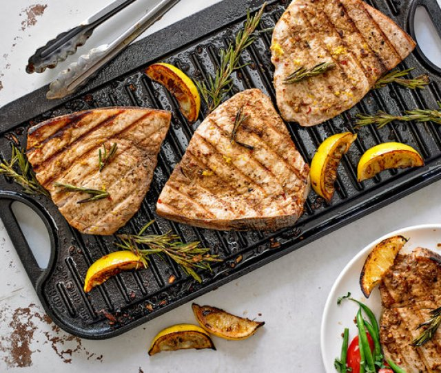 Grilled Marinated Swordfish Steaks Recipe Nyt Cooking