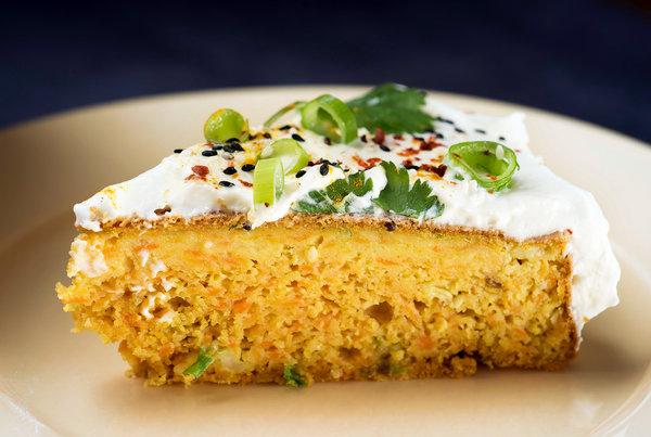 The Savory Side Of Carrot Cake The New York Times