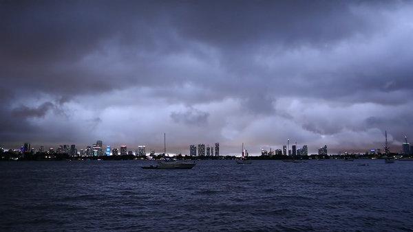 Una tormenta sobre Miami