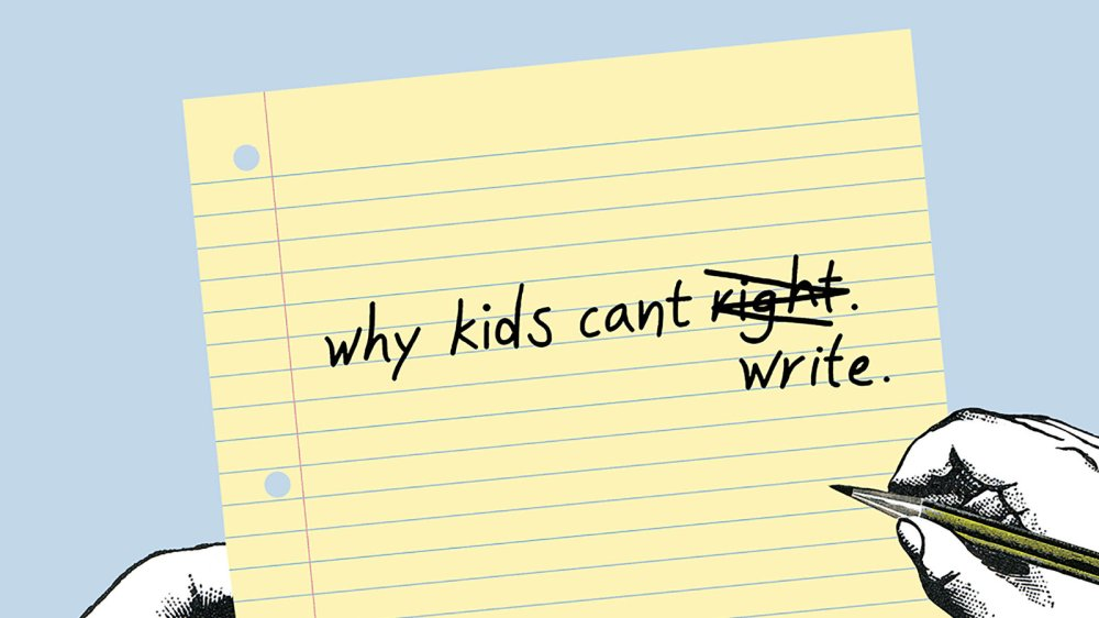 medium resolution of Why Kids Can't Write - The New York Times