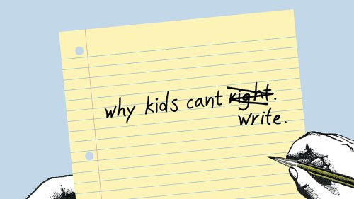 small resolution of Why Kids Can't Write - The New York Times