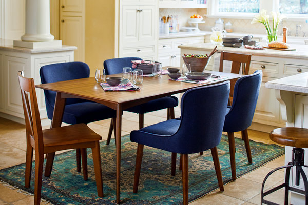 dining room tables and chairs giant beanbag chair how to choose the right table for your home new york times image