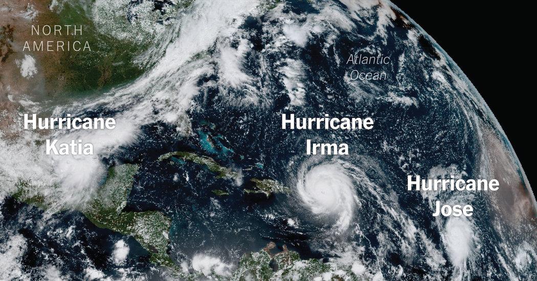 watching hurricanes irma jose