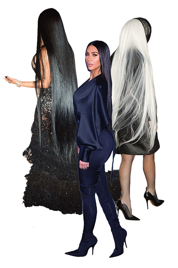 extra-long hair trend decoded