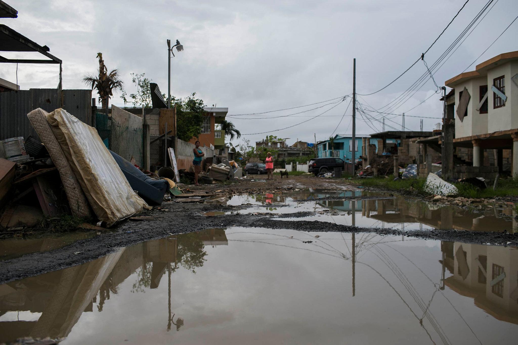 Hurricane Contamination