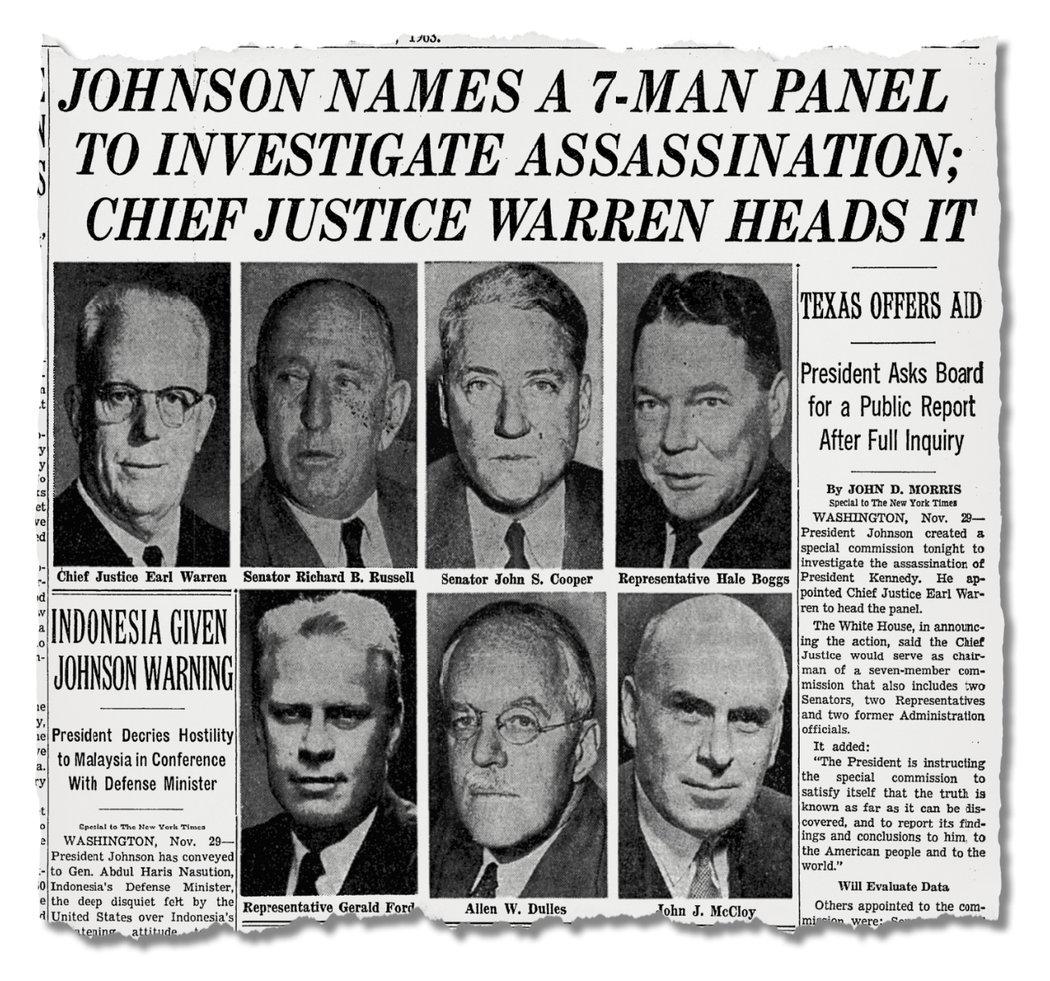 甘迺迪遇刺:冷戰陰謀,黑幫行動還是聯邦政變? - 紐約時報中文網