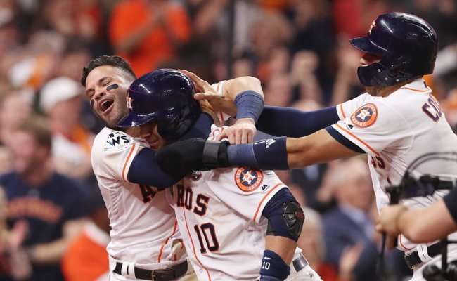 World Series 2017 Astros Win Home Run Derby Vs Dodgers