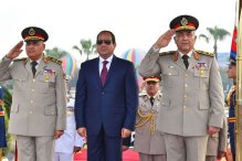 Image result for President Sisi shakes up security agencies after Giza attack