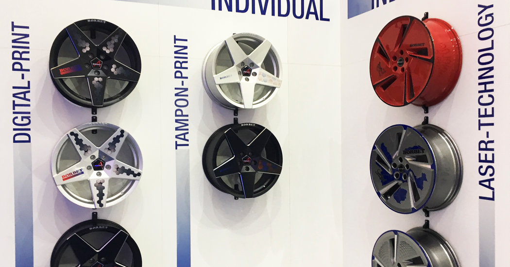 wheels drive auto industry forward in