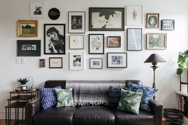 living room decorating ideas picture frames million dollar rooms creating a gallery wall don t start hammering yet the new york times image