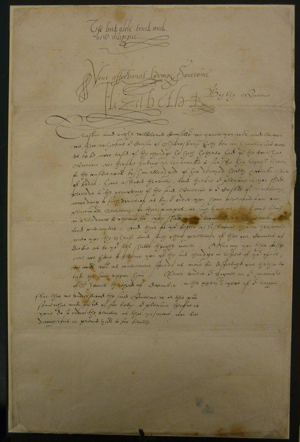 Queen Elizabeth Letters Show Her Distrust of Mary Queen of