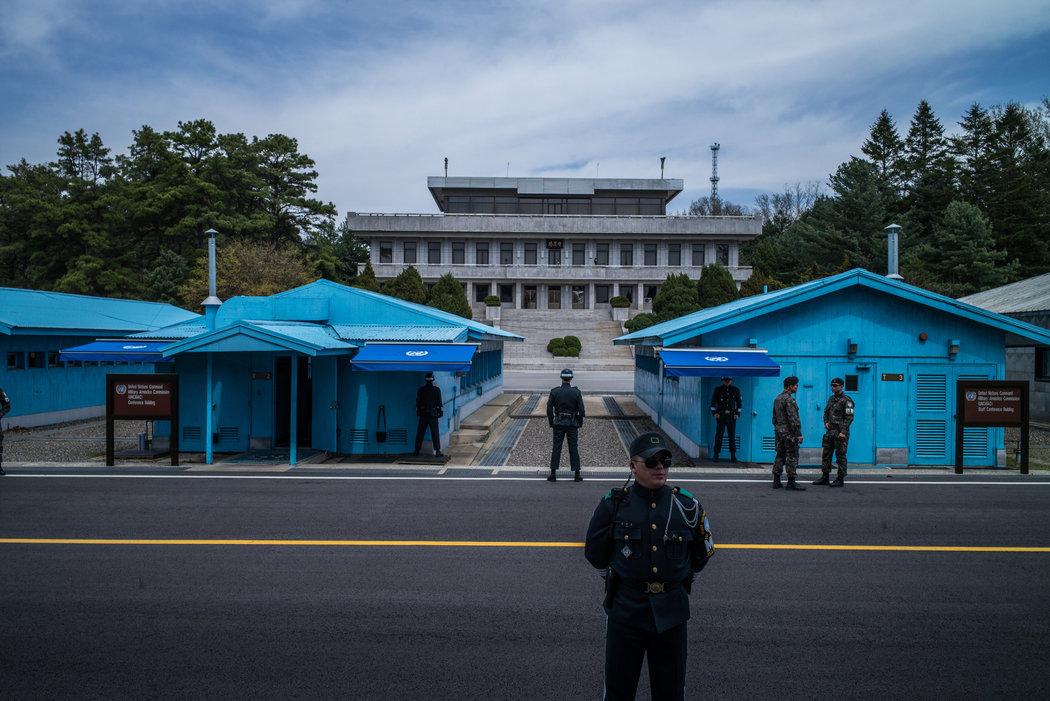 今年第4名朝鮮士兵越境叛逃至韓國 - 紐約時報中文網
