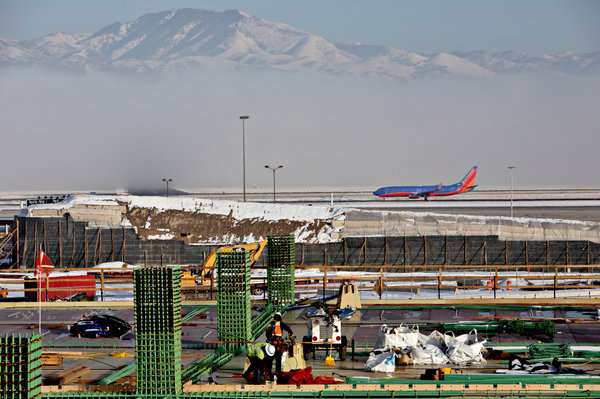 Building A Modern Airport In Salt Lake City From One Well Past Its Prime The New York Times