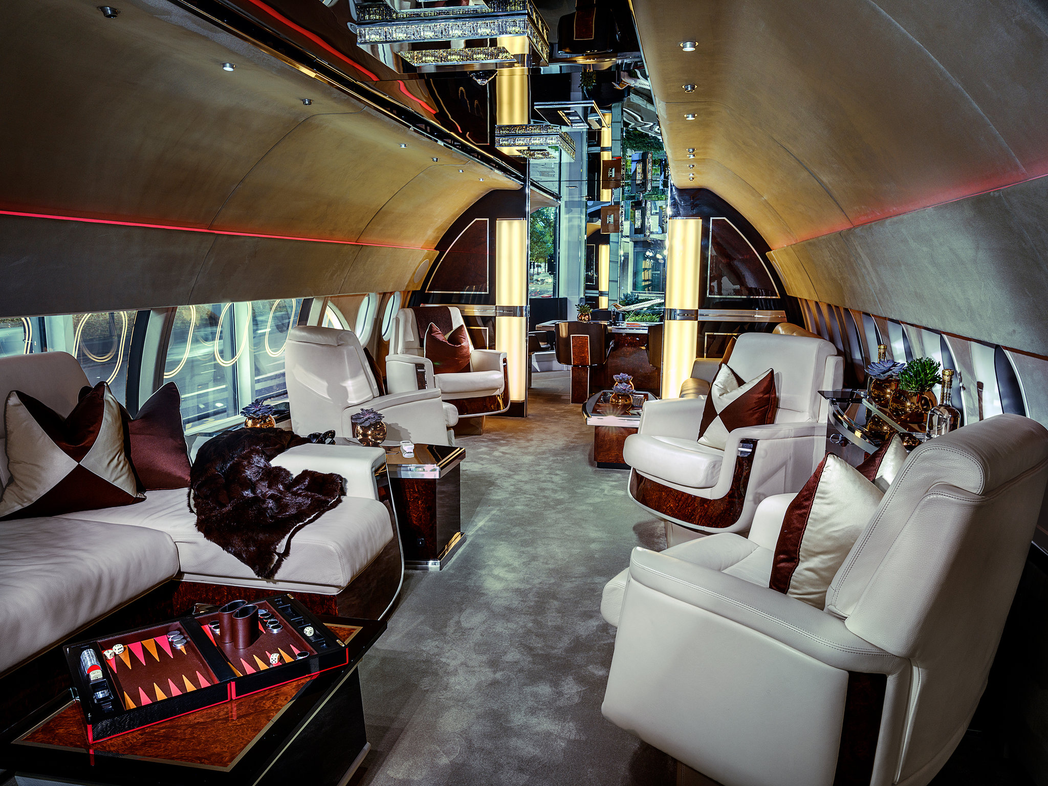 Selling Airborne Opulence to the Upper Upper Upper Class