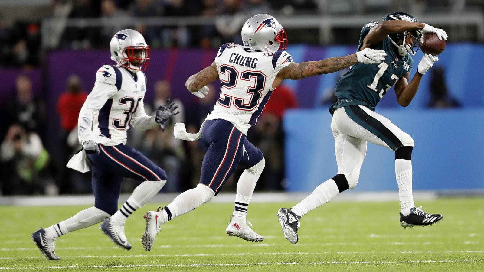 Super Bowl Live Score Patriots Lead Eagles