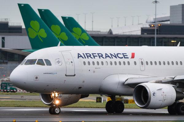 strike over air france