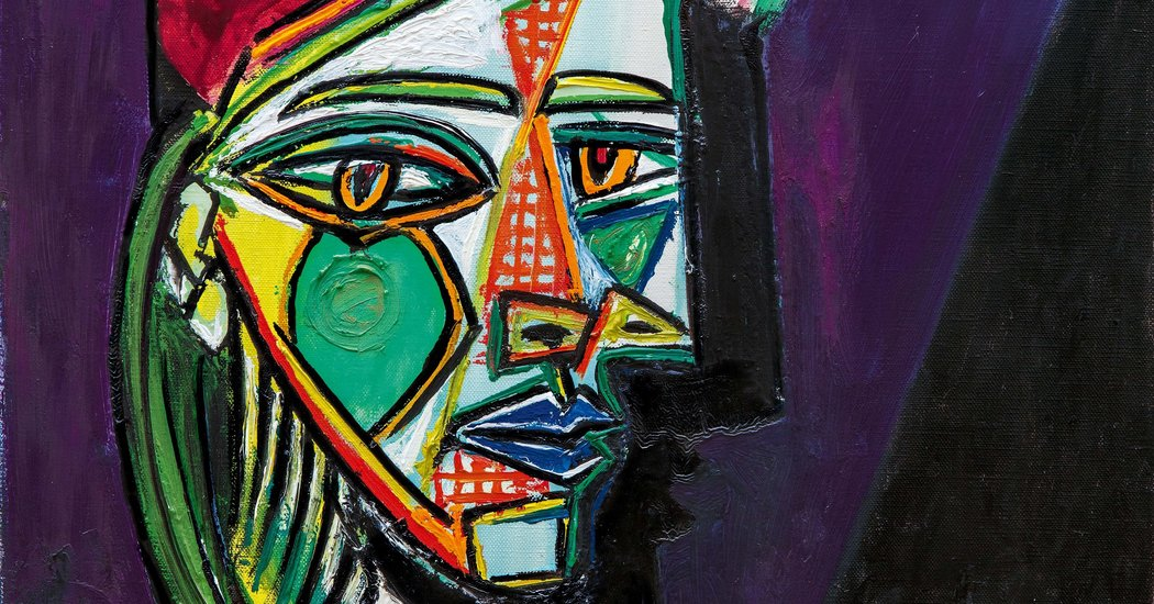 Picasso Painting of a Lover in a Beret Brings $69.4 Million - The New York Times