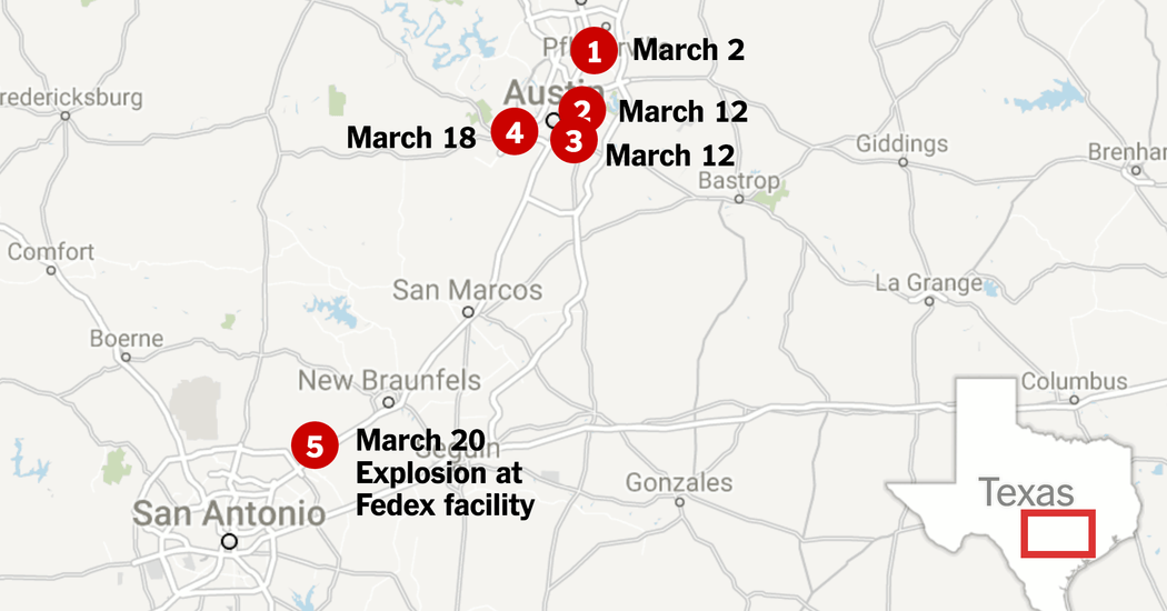 What We Know About the Bombings and Explosions in Austin