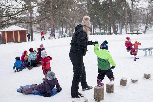 in sweden s preschools