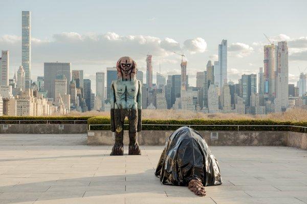 Sci-fi Showdown Met Museum Rooftop Garden - York Times