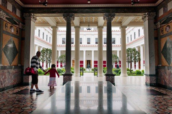 Five - Artworks Renovated Getty Villa